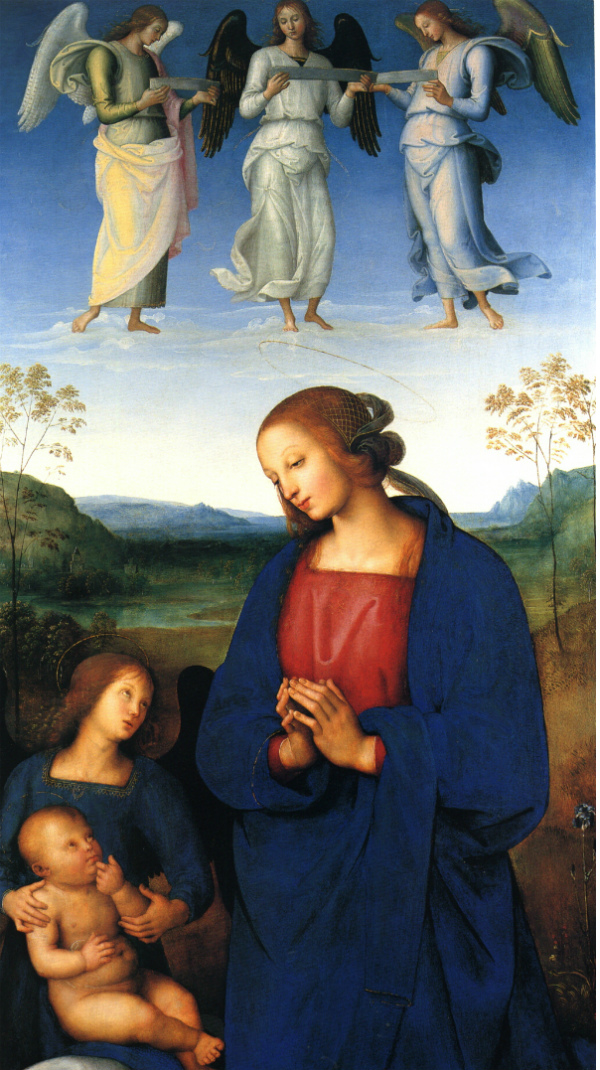 virgin and child with angel_Angeli sul muretto_Elena Cocchi_Magazzino26 blog