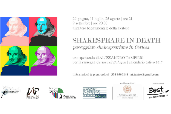 Flyer Shakespeare Certosa 2017