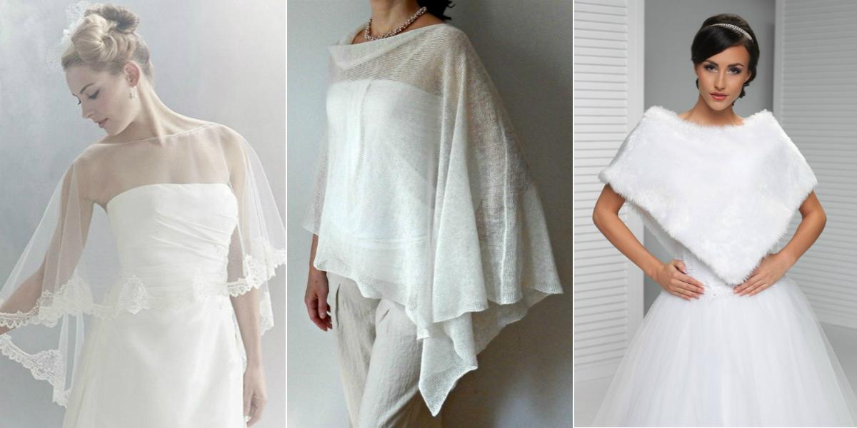 3-ponchos on Dress-For-M26 Bride Blog