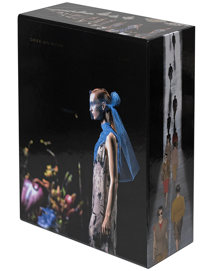 The double volume work in a limited edition box.