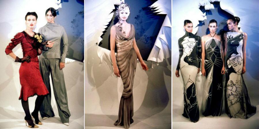 Abiti della collezione alta moda Primavera/estate 1999