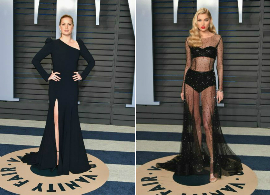2-total black festa vanity fair notte oscar 2018_Magazzino26 fashion blog