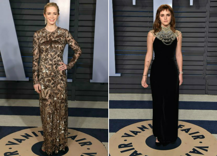 3-total black festa vanity fair notte oscar 2018_Magazzino26 fashion blog
