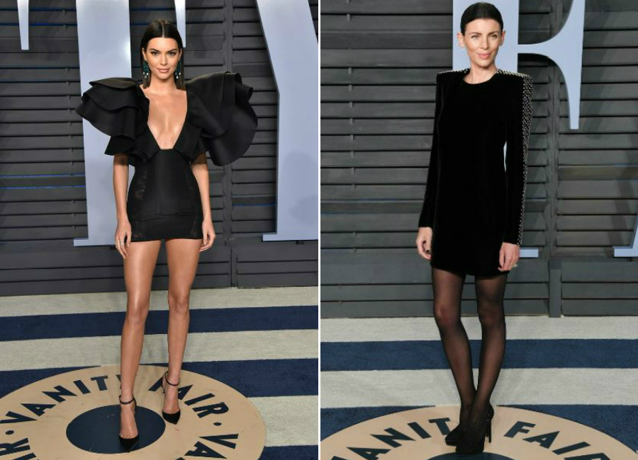 4-total black festa vanity fair notte oscar 2018_Magazzino26 fashion blog